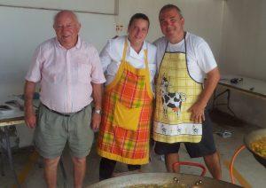 Valencian paella dream team