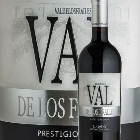 Valdelosfrailes Prestigio 2006, 100% Tempranillo