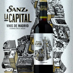 La Capital, DO Madrid, 100% Tempranillo