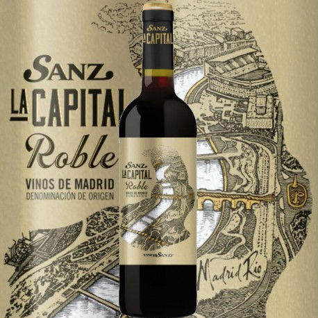 La Capital Roble Tempranillo DO Vinos de Madrid
