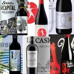 Spanish fruity red wine tasting 6-bottle case