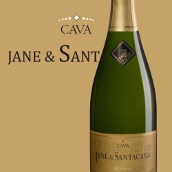 Jane & Santacana Cava Reserva Brut Nature bottle