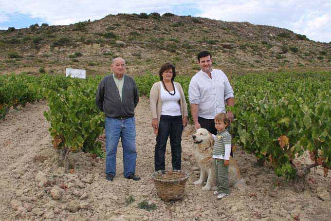 Rioja winemaking family Gómez de Segura